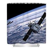 Solar Terrestrial Relations Observatory Satellites Shower Curtain