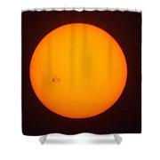 Solar Wabi Sabi Shower Curtain