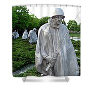 Soldiers Shower Curtain