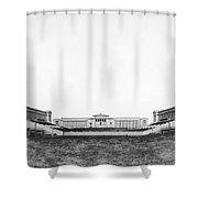 Soldiers' Field And Museum Shower Curtain