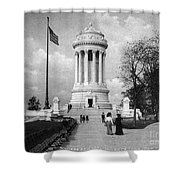Soldiers Memorial - Ny Shower Curtain