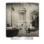 Soldiers Memorial - Ny - Toned Shower Curtain