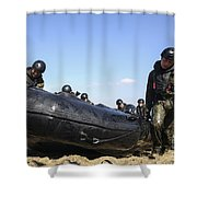 Soldiers Of The Japan Ground Shower Curtain