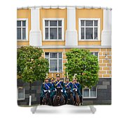 Soldiers Of The Presidential Regimental Shower Curtain