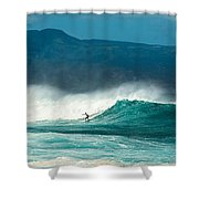 Sole Surfer Shower Curtain