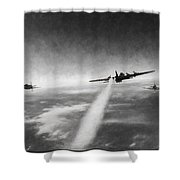 Wounded Warrior - Charcoal Shower Curtain