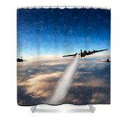 Wounded Warrior - Pastel Shower Curtain