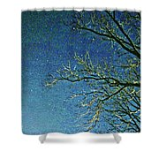 Solemn Sky Shower Curtain