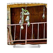 Soleri Bells II Shower Curtain