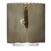 Soliloquy Shower Curtain