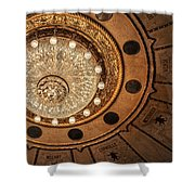 Solis Theater Ceiling Shower Curtain