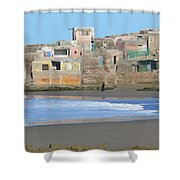 Solitary Journey Shower Curtain