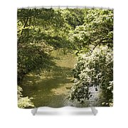 Solitary Waters Shower Curtain