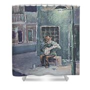 Solo By Streetlight Shower Curtain