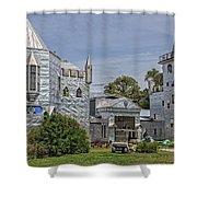 Solomon's Castle Ona Florida Shower Curtain