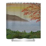 Some Alone Time Shower Curtain by Sayali Mahajan