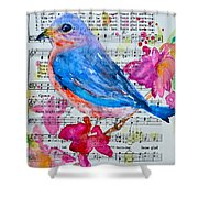 Some Bright Morning Shower Curtain