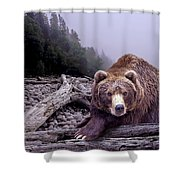 Some Days You Eat The Bear Some Days The Bear Eats You Shower Curtain