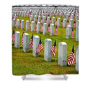 Some Gave All Shower Curtain