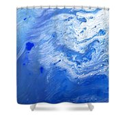Some Kind Of Blue Shower Curtain