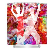 Some Like It Hot 3 Shower Curtain