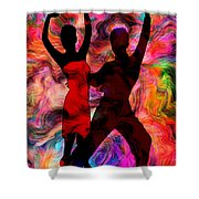 Some Like It Hot 3 Part 2 Shower Curtain