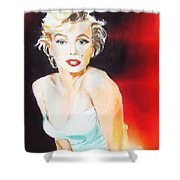 Some Like It Red Hot Shower Curtain