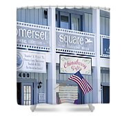 Somerset Square 1 Shower Curtain