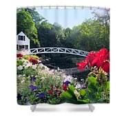 Somesville Bridge And Home Shower Curtain