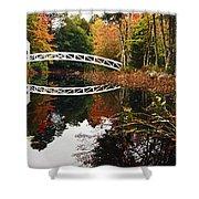Somesville Bridge Shower Curtain