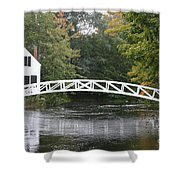 Somesville - Mount Dessert Island Shower Curtain