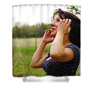 Something Beautiful About Joy Shower Curtain