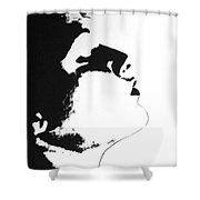 Something In Mind Shower Curtain