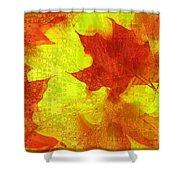 Something Like Autumn Shower Curtain