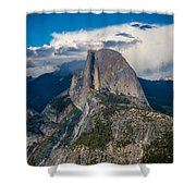 Somewhere Over Half Dome Shower Curtain