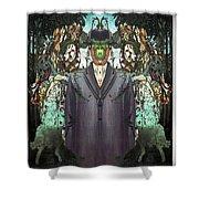 son-of-man Botticelli 2 Shower Curtain