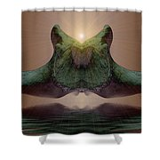 Sonar 5 Shower Curtain