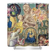 Song Of Angels II Shower Curtain
