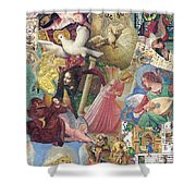 Song Of Angels Shower Curtain