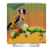 Songbird Shower Curtain