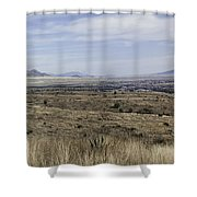 Sonoita Arizona Shower Curtain