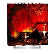 Sonoma County Hot Air Balloon Classic Shower Curtain