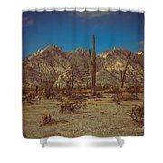 Sonoran Desert Shower Curtain