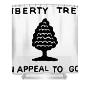 Sons Of Libery Symbol, 1776 Shower Curtain