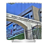 Sony Pictures Entertainment Production Distribution Shower Curtain