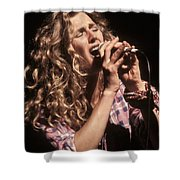 Sophie B Hawkins Shower Curtain