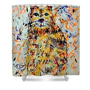 Sophisticated Cat 3 Shower Curtain