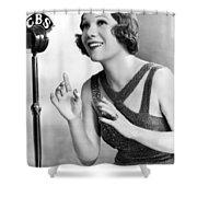 Soprano Vivienne Segal On Cbs Shower Curtain