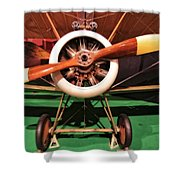 Sopwith Camel Airplane Shower Curtain