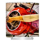 Sopwith Camel Shower Curtain
